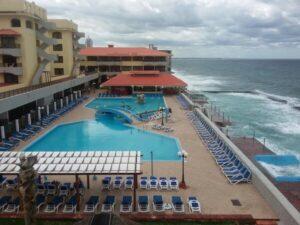 Swimming pool of Hotel Copacabana