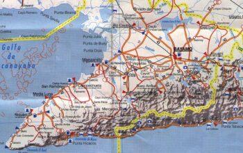 map Granma, Cuba